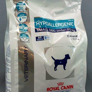 Royal canin HYPOALLERGENIC SMALL DOG under 10 кг HSD24Диета для собак,1 кг