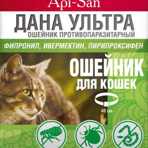 ДАНА Ультра ошейник для кошек, 1 шт.