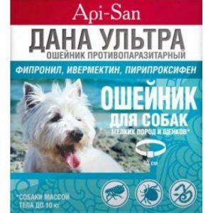 ДАНА Ультра ошейник д/щенков и мел. пород собак,противопаразитарный., 1 шт.