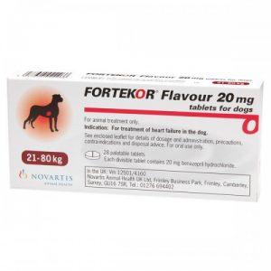 Фортекор 20 мг, 14 таб/уп.
