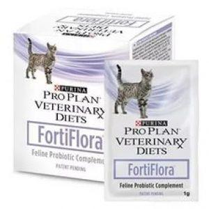Пурина FortiFlora для кошек, 30 пакетиков по 1 г/уп.