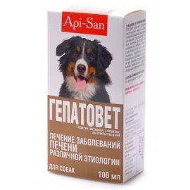 Гепатовет д/собак, 100 мл/фл