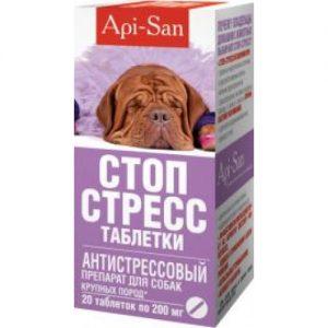 Стоп-Стресс,  д/соб КРУПНЫХ, 20 таб/уп
