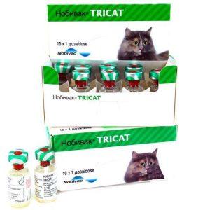 Нобивак Tricat Trio, 1 доза