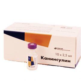 Канинсулин 40 ед/мл, 2.5 мл/фл