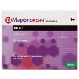 Марфлоксин 80 мг, 12 таб/уп