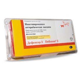 ДЕФЕНСОР-3 (против бешенства), 1доза