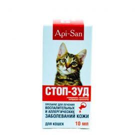 Стоп-Зуд суспензия д/кошек, 10 мл/фл